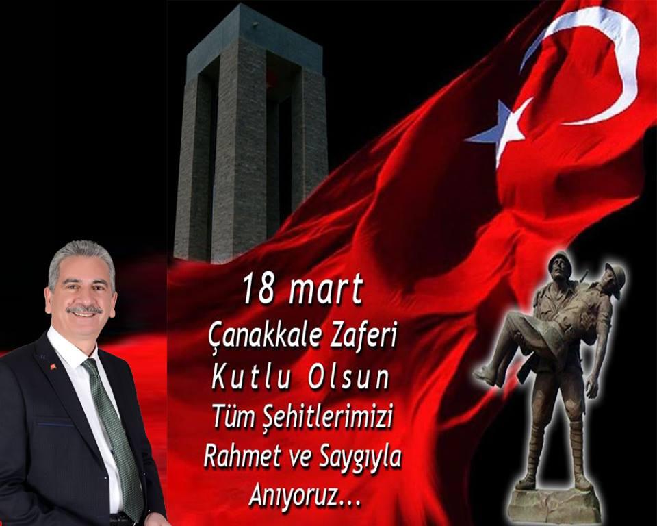 """BOZTEPE BELEDİYE BAŞKANI AYDIN'DAN """"18 MART ŞEHİTLERİ ANMA GÜNÜ"""" MESAJI"""
