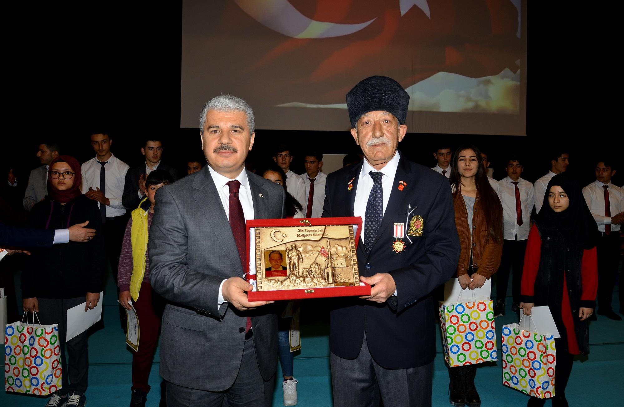 """MİLLETİN SESİ MEHMET AKİF ERSOY""PROGRAMI DÜZENLENDİ"