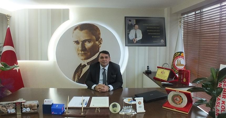 K.T.S.O BAŞKANI YILMAZ'DAN BAYRAM MESAJI