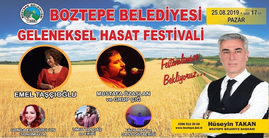 BOZTEPE'DE HASAT FESTİVALİ