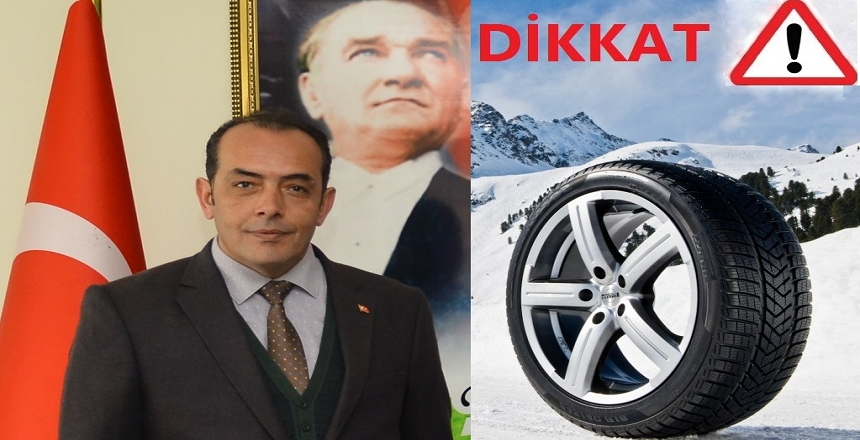 KIŞ LASTİĞİNDE 1 ARALIK'A DİKKAT!