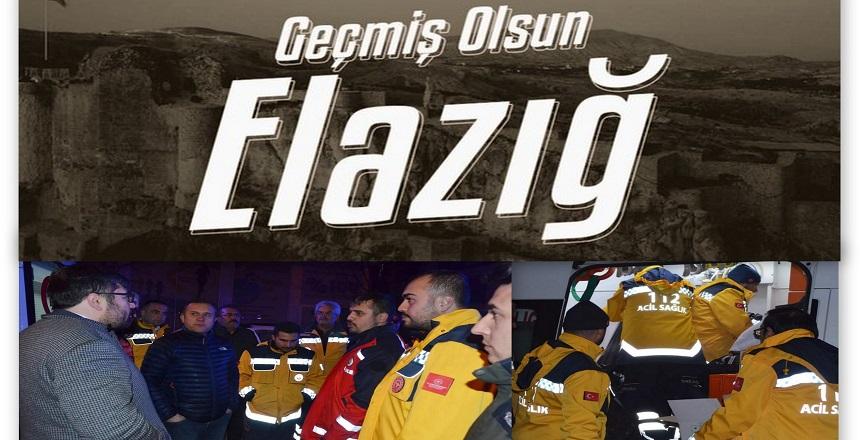 ELAZIĞ'A KIRŞEHİR'DEN UMKE EKİBİ