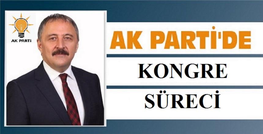 AK PARTİ'DE İLÇE KONGRELERİ DEVAM EDİYOR