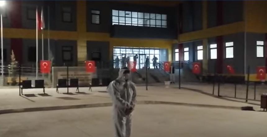 İNGİLTERE'DEN GELEN KAFİLE KIRŞEHİR'DE KARANTİNADA
