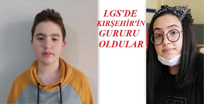 LGS'DE KIRŞEHİR'DEN 2 ŞAMPİYON