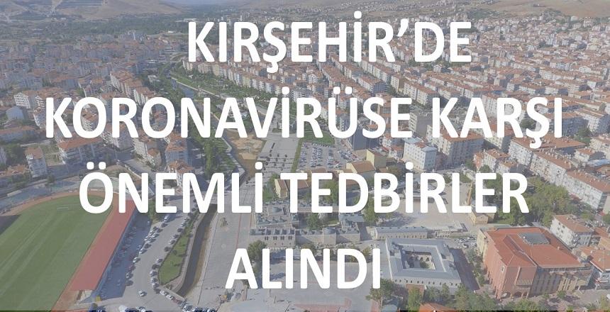 KORONAVİRÜS ÖNLEMLERİ ARTTIRILDI